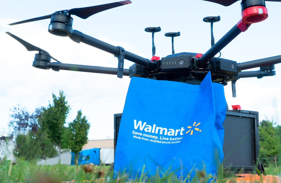 Walmart Is Now Delivering Packages With Robot Drones