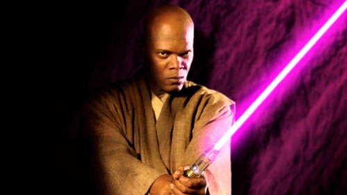 See Samuel L. Jackson Celebrating Star Wars Day By Combining Mace Windu And Pulp Fiction