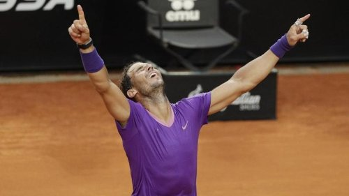 Nadal gewinnt Masters in Rom - Sieg über Djokovic