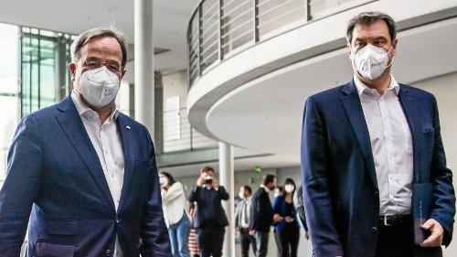 Söder gegen Laschet: Machtkampf wird zur Zerreißprobe für die Union