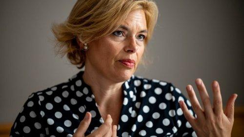 CDU: Julia Klöckner fordert Frauenquote in ihrer Partei