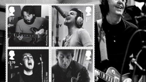 Britische Post würdigt Paul McCartney mit Sonderbriefmarken