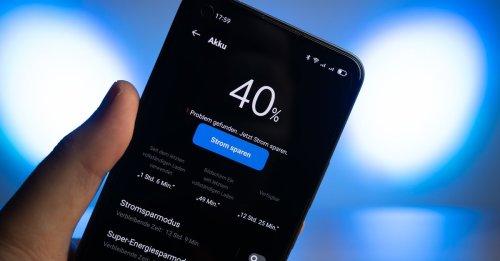 Akku bis zum Umfallen: Verrücktes China-Handy sorgt für Furore