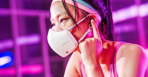 Futuristische LG-Maske: Mit Motor und Lautsprecher gegen Corona