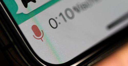 WhatsApp sorgt für Ruhe: Wer Sprachnachrichten hasst, wird diese Funktion lieben