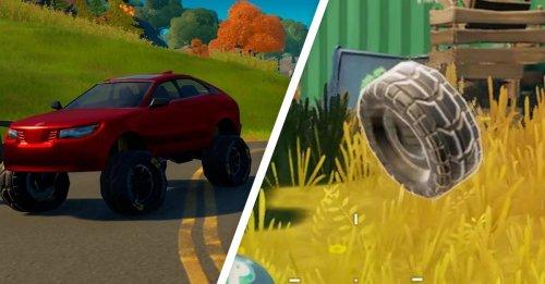 Fortnite: Modifiziere Fahrzeuge mit Geländereifen – Fundort (Season 6)