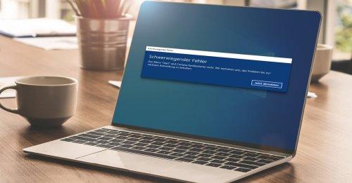 Neue Probleme mit Windows 10: Wenn der PC plötzlich komische Geräusche macht