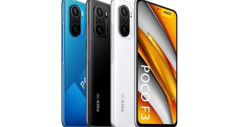 Xiaomi Poco F3: Amazon verkauft Preis-Leistungs-Knaller noch günstiger