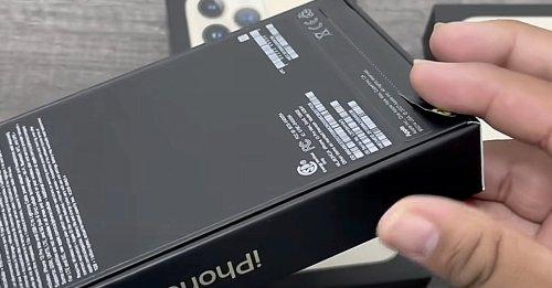 iPhone 13 schon da: Noch vor Verkaufsstart ausgepackt