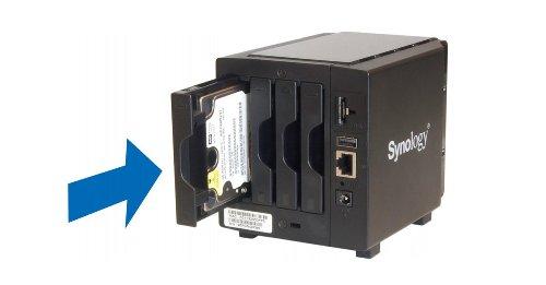 Synology DiskStation: Neue Festplatte hinzufügen – so geht's