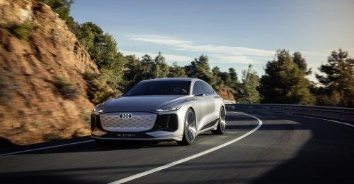 Audis neues Konzeptauto: A6 e-tron kann viel mehr als ein E-Auto braucht