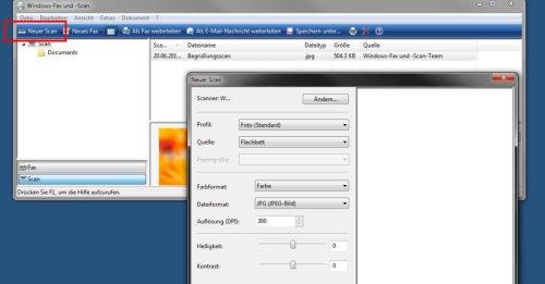 Windows-Fax und -Scan – so geht's ohne Probleme