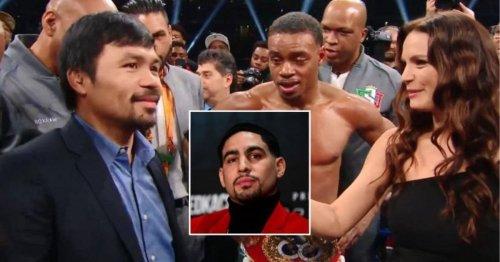 Danny Garcia makes prediction for Manny Pacquiao vs Errol Spence Jr