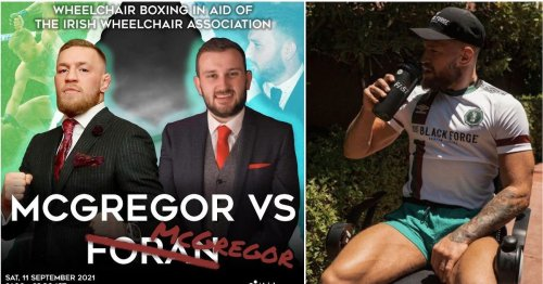 Conor McGregor's next fight is going to be a wheelchair boxing match vs comedian