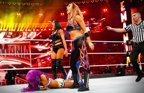 Bayley posts emotional message following the Ilconics' WWE departure