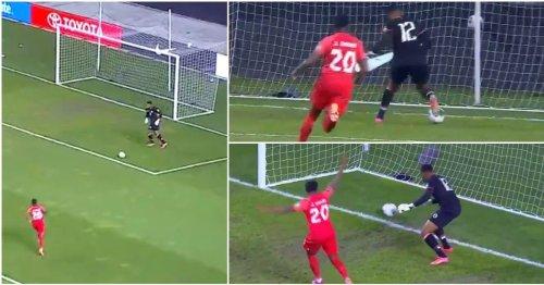 Haiti goalkeeper has gone viral for arguably the worst own goal ever scored vs Canada