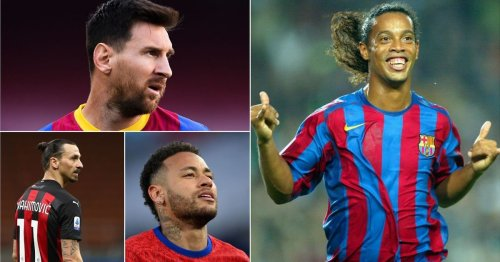 Messi and Neymar's tributes to Ronaldinho prove Barcelona legend is an all-time great