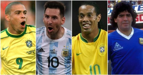 The top 30 South American players of all time ranked - Lionel Messi only third