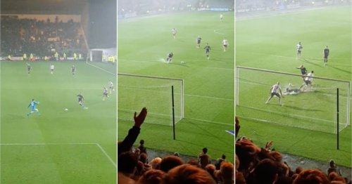 Plymouth's goal v Bolton on a waterlogged pitch was so iconically scrappy that it's gone viral