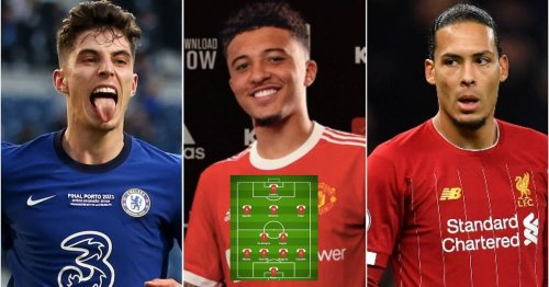 The most expensive transfer XI in Premier League history after Sancho joins Man Utd