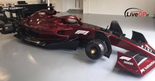 Photos have leaked of what an F1 car could look like next season & they're superb