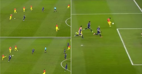Dani Alves' ludicrous assist for Lionel Messi vs PSG needs framing in a museum
