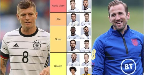 Ranking England and Germany's Euro 2020 players from 'World class' to 'Lucky to be there'