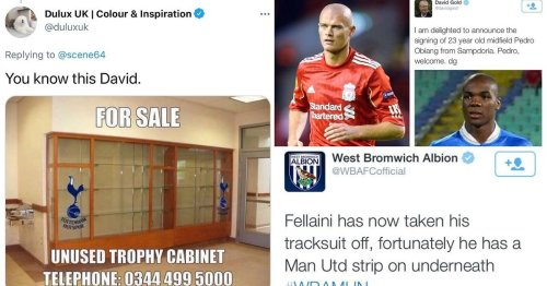 Every Premier League club's worst social media moment after Dulux made fun of Tottenham