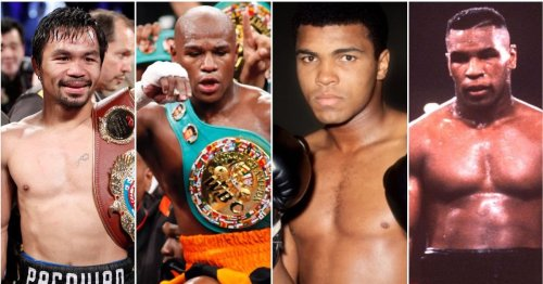 The 25 greatest boxers of all time have been ranked by boxing fans