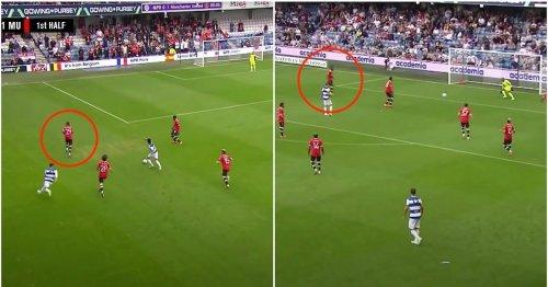 Footage emerges of Aaron Wan-Bissaka's defending vs QPR after Charlie Austin slates him