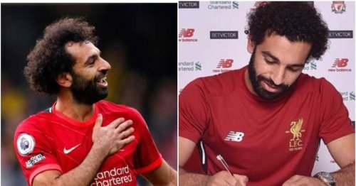 Mohamed Salah's agent flies to UK for talks with Liverpool over new £500k per-week contract