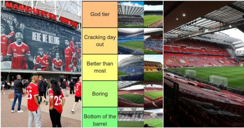 Ranking 2021/22 Premier League stadiums from 'Bottom of the barrel' to 'The GOAT'