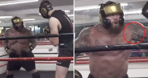 Eddie Hall v Hafthor Bjornsson postponed after The Beast suffers awful bicep detachment