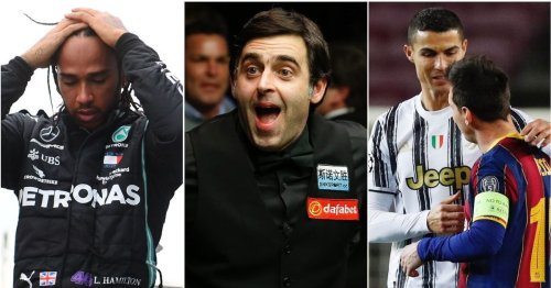 Ronnie O'Sullivan is adamant Lewis Hamilton is NOT a sporting great - names 7 who are
