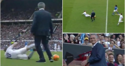 Jose Mourinho wiping out Olly Murs is still the funniest moment in Soccer Aid history