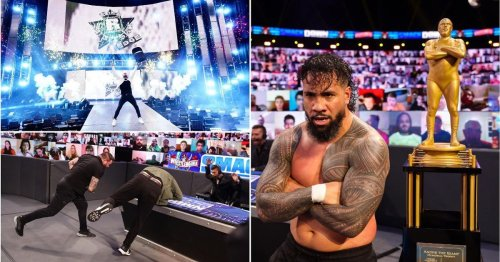 SmackDown results: Banks vs Belair to main event WrestleMania night one, Uso wins Battle Royal