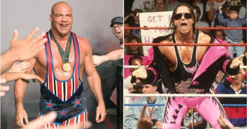 'The best technician I have ever seen' - Kurt Angle names Bret Hart as the greatest wrestler ever