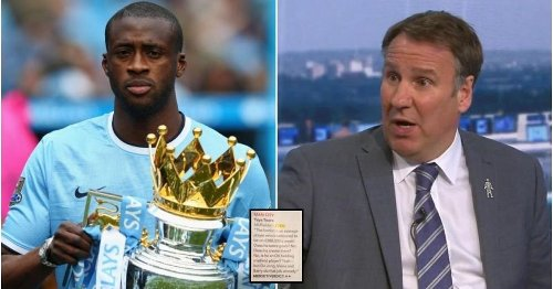 Paul Merson's brutal 42-word column on Yaya Toure after joining City looks ridiculous now