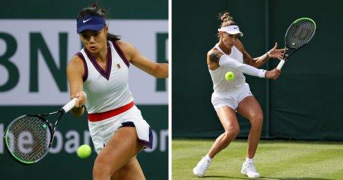Who is Emma Raducanu's next opponent Polona Hercog?