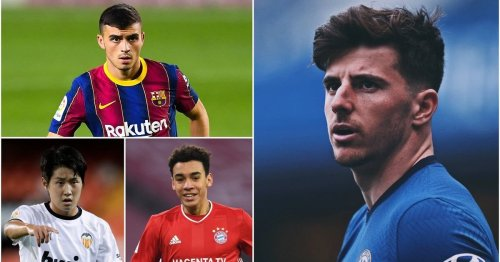 Ranking the 16 best U23 playmakers in world football after Mason Mount's CL masterclass