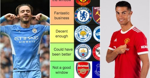 Ranking every PL club's transfer window from 'winners of the window' to 'absolute nightmare'