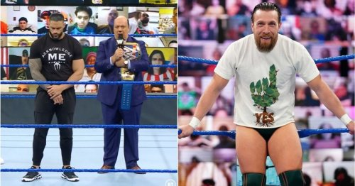 Paul Heyman actually went off-script with Daniel Bryan 10-bell salute on SmackDown last week