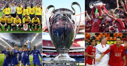 The 10 best English sides in Champion League history have been ranked