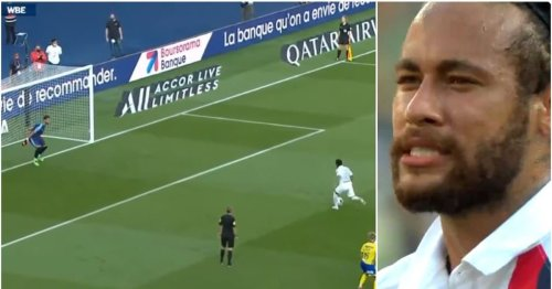 When Neymar asked GK which way he'll go for penalty - and then completely mugged him off