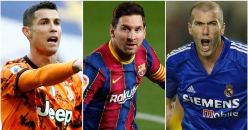 Football fans have ranked the 25 best players of the 21st century - Cristiano Ronaldo only 4th
