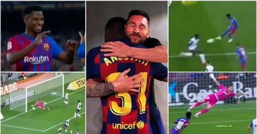 Ansu Fati went full Messi with dazzling highlights on first start in Barca's No. 10 shirt