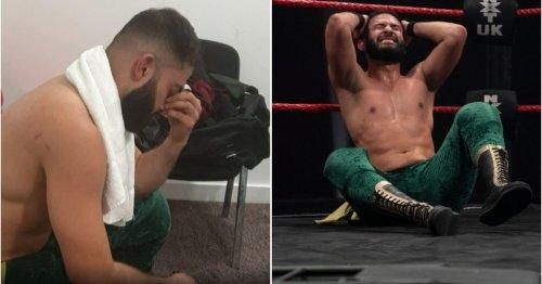 Heartbroken Amir Jordan responds to being forced to leave NXT UK after brutal main event