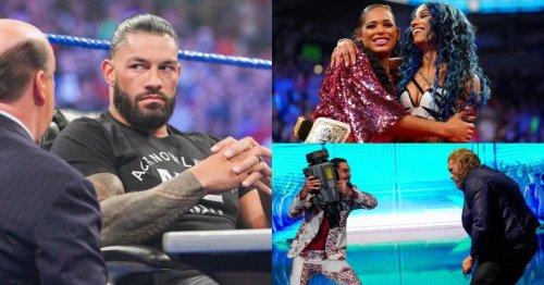 WWE SmackDown results: John Cena & Roman Reigns make match official as Sasha Banks returns