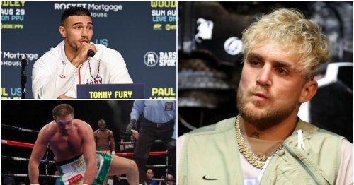 Jake Paul to spar with fighter who floored Tyson Fury as he prepares for Tommy Fury clash