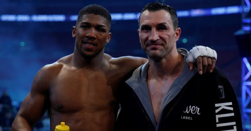What happened to Wladimir Klitschko after he lost to Anthony Joshua in 2017?